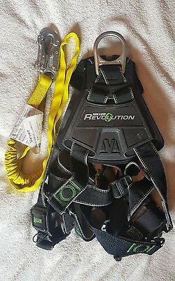 Miller Revolution Safety Harness With Miller Manyard Fall Arrest Lanyard