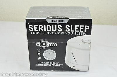 "Marpac DOHM DS Serious Sleep White Noise Machine ""Open Box New"""