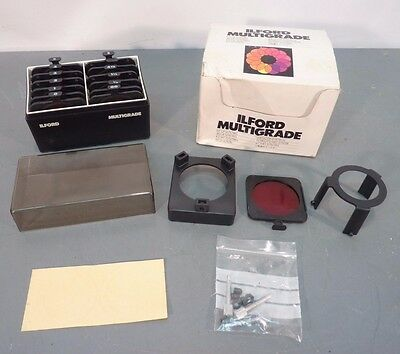 ILFORD Multigrade FILTERS KIT For B&W Enlarger Variable Contrast 762617
