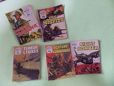 Battle Picture Library War Comics. 5 editions