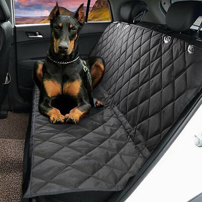 2017 2 In 1 Waterproof Car Rear Back Seat Cover Pet Dog Protector Boot Mat Liner