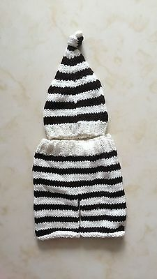 NewBorn Baby Girls Boys Crochet Knit Costume Clothes Photo Photography Props /L3