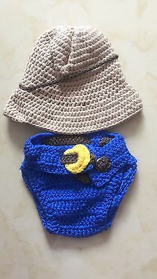 NewBorn Baby Girls Boys Crochet Knit Costume Clothes Photo Photography Props /L5