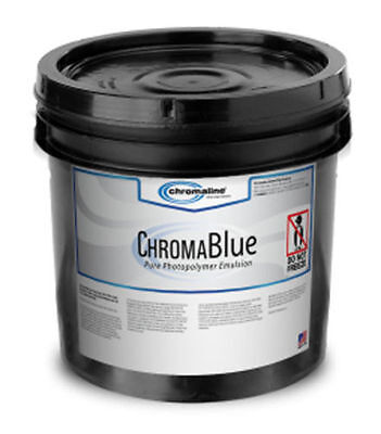 Chromaline Chromablue Photopolymer Emulsion Gallon- FREE SAME DAY SHIPPING