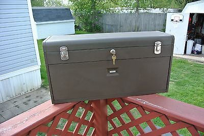 Kennedy Machinist Tool Box Model No. 526-547549 Used, Nice Working Condition