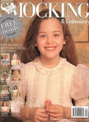 Australian Smocking & Embroidery Issue 44 Multi-size Patterns NEW condition