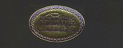 1920's Small very old RIngling Bros. Barnum and Bailey Merchandise Sticker/Label