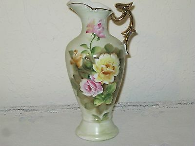 Antique Style Wild Rose Ewer Pitcher By Sterling China Co.