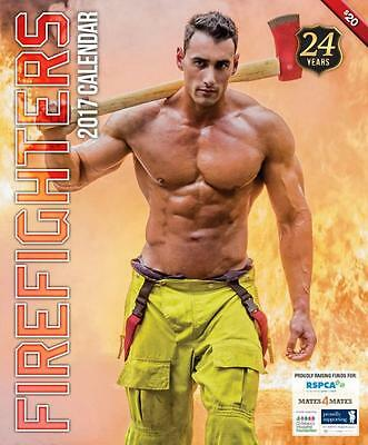 Firefighters Calendar Australia 17 RRP$20 50 Shades of Hot! Coffee Club & Movies