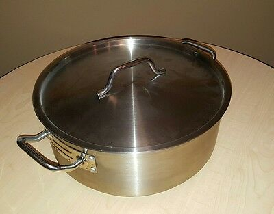 Update International (SBR-15) 15 Qt  Brazier Pan