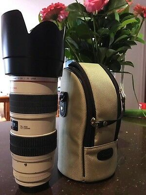 Canon EF 70-200mm f/2.8 L IS  USM Lens Good Condition