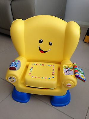 LIKE NEW Fisher-Price Laugh & Learn Smart Stages Chair