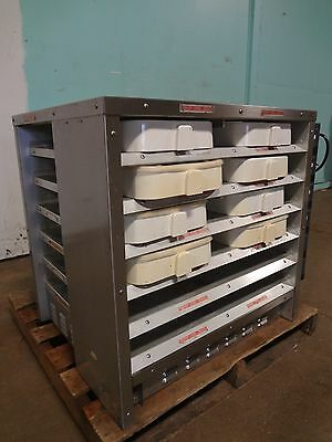 """"""" H & K """" Commercial 12 Compartments Heating/holding Pass Through Food Warmer"""