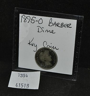 West Point Coins ~ 1895-O Barber Dime (Good) - Key Coin