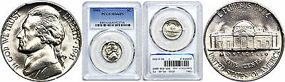 1941 Jefferson Nickel PCGS MS-66 FS