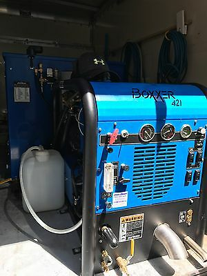 Carpet Cleaning Machine & Van Truck Mount Hydramaster Boxxer 421 with LOW hours