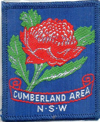 NSW scout badge   CUMBERLAND AREA