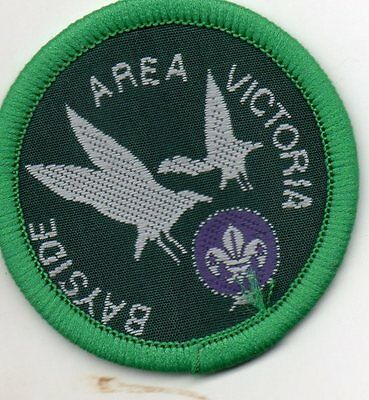 VIC scout badge  BAYSIDE AREA
