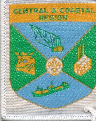 QLD scout badge  CENTRAL&COASTAL