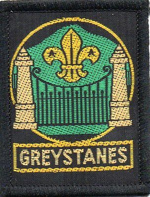 NSW scout badge   GREYSTANES