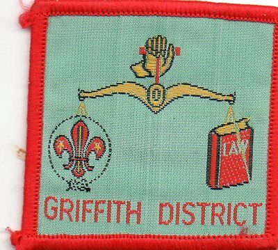 QLD scout badge  GRIFFITH