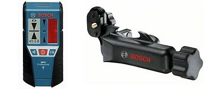 Bosch LR2 Line Laser Detector and Adaptor for Pulse Lasers