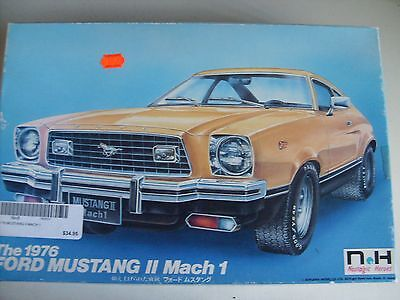 Vintage Ford Mustang Ii Mach 1, Doyusha Motorised Model Kit.