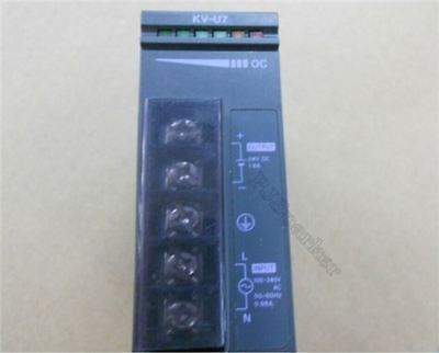 Used 1Pcs Keyence Power Supply Unit KV-U7 KVU7 Plc Module gb