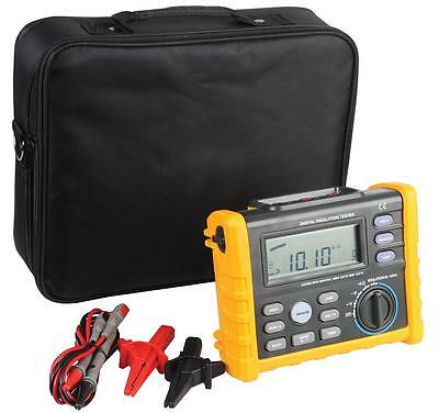 Duratool Digital Insulation Tester Ac/dc Voltage & Continuity Testing Functions