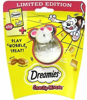 DREAMIES Snacky Mouse with Cat Irresistable Treats with Cheese 60g FAST DELIVERY