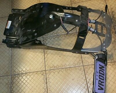 Harley Davidson VROD rear fender eliminator for 2007 - 2011 models. VRSC