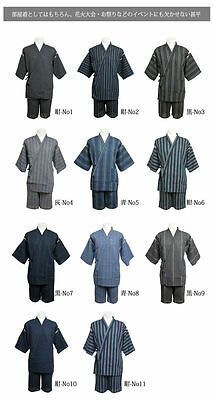 JAPANESE Kimono JINBEI Men's trousers set 11 colors 3size NEW