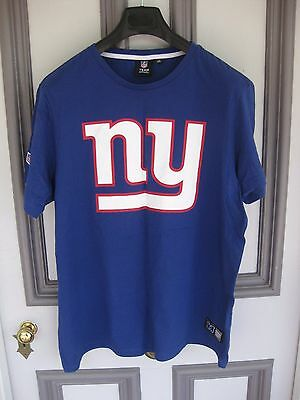 Men's New York Giants NY NFL Team T-shirt  SIZE XXL