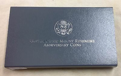 1991 US Mint Mount Rushmore 2-Coin Commemorative Set - Proof