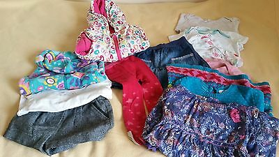 baby girl clothes bundle size 18-24 months