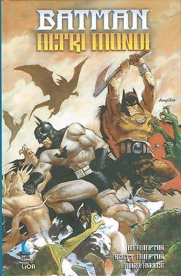Batman altri mondi di Hampton/Kneece CARTONATO ed.Lion sconto 50% FU06