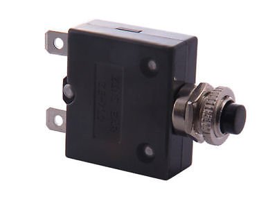 4A - 35A Thermal Circuit Breaker Re-Settable Fuse - Select Your Rating From List