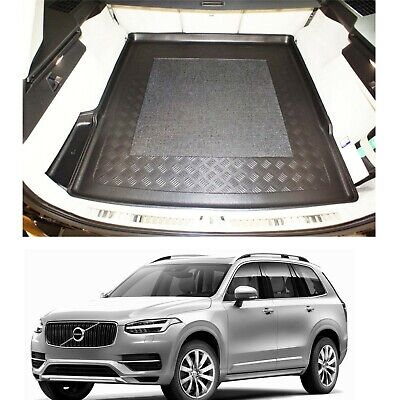 Volvo XC90 II 2015+ LDPE boot tray or rubber load liner mat - bumper protector