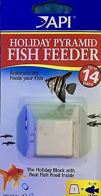 14 Day API Pyramid Holiday Vacation Weekend Fish Food Aquarium Fishtank NEW
