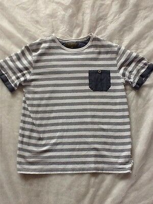 Ted Baker Boys Striped T Shirt Age 12-13 Years Worn Twice