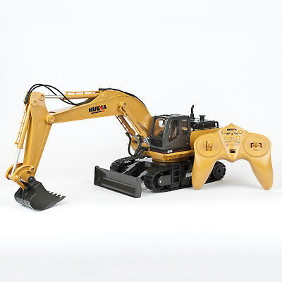 Radio Controlled RC Truck Excavator Loader Digger Construction Toy 1:16 Scale
