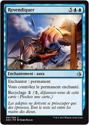 MTG Magic AKH - (x4) Lay Claim/Revendiquer, French/VF