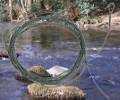 Trout: Forward tapered 5 metre Tenkara furled leader/line light (dry fly)