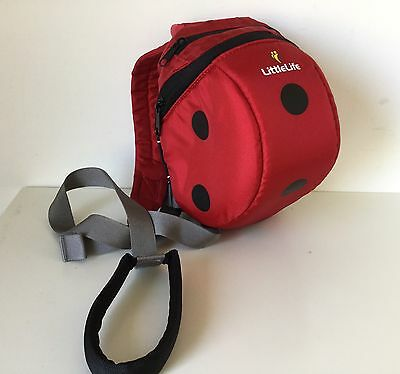 Child's LittleLife Ladybird Backpack with Reins