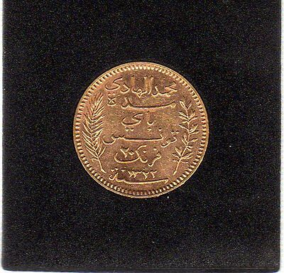 Tunisie 20 Francs Or 1904 A - Gold coin