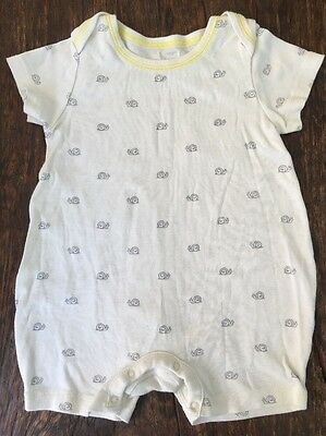 Baby Gap Summer One Piece With Snail Pattern Size 6-12months