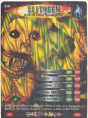 Doctor Who Battles In Time Exterminator #10 Slitheen Blon Fel Fotch