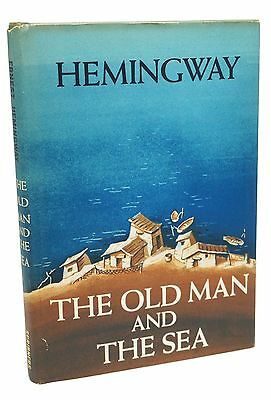 The Old Man and the Sea Ernest Hemingway First Edition 1st Issue 1952 Rare Book