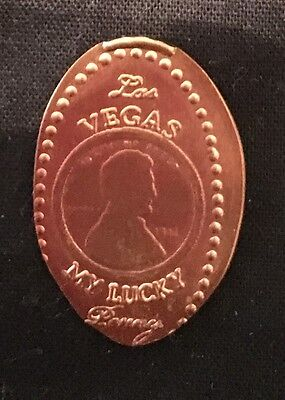 Las Vegas Lucky Penny Elongated/pressed Penny Souvenir