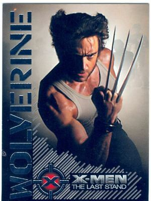X Men 3 The Final Stand Wolverine Portrait Of A Hero Chase Card W3